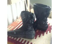 Frank Thomas Motorcycle Boots, size 8(42)