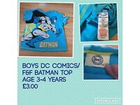 Boys clothes tops tshirts jeans trousers angry bird batman
