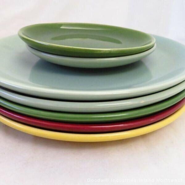 Bauer Pottery USA California Plates