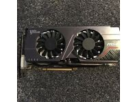 Msi nvidia GeForce Gtx 680 2gb twin frozr III edition £110 Ono