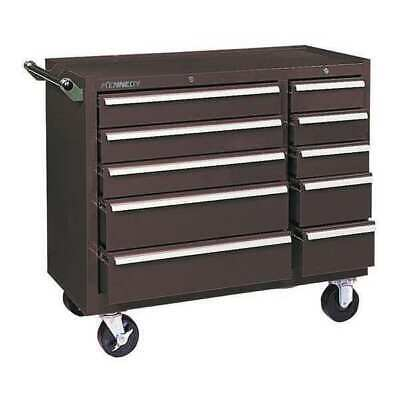 Kennedy 310xb K1800 39-38 Industrial Tool Cabinet 10-drawer Brown