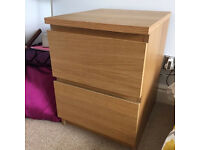 IKEA MALM Chest of drawers / bedside table