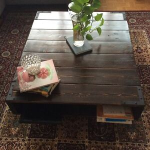 Unique coffee table with high quality