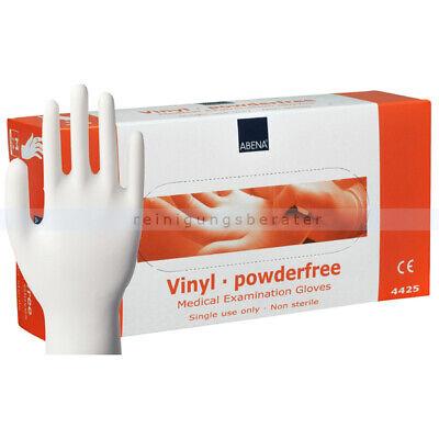 Einmalhandschuhe aus Vinyl Abena transparent M Einweghandschuhe, Schutzhandschuh