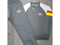 Charcoal Grey Full Jogging Tracksuit Brand New