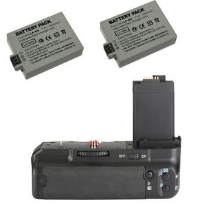 Battery-Grip-Pack-for-Canon-500D-450D-1000D-as-BG-E5-Camera-2-LP-E5-Batteries