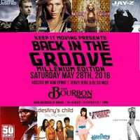 THROW BACK DANCE PARTY at The Bourbon Room, Downtown Ottawa