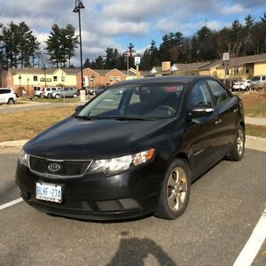 2010 KIA Forte EX  with Sunroof