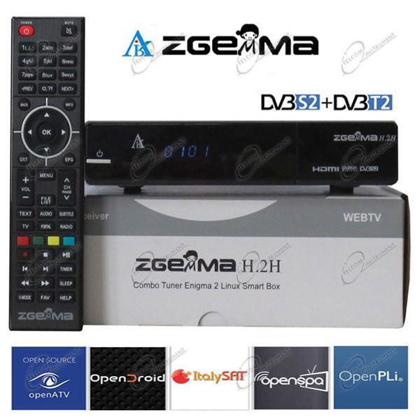Ricevitore ZGEMMA H2H H.2H è Decoder IPTV più Chiavetta Wi-Fi