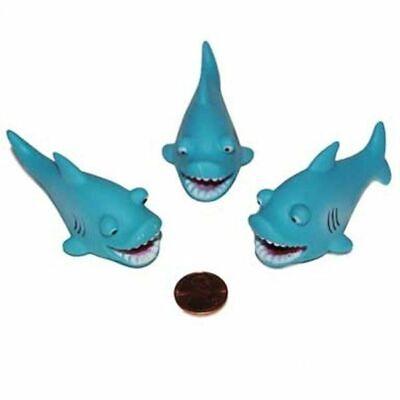 12 Mini Shark Squirts Party Favor Ocean Beach Luau Water