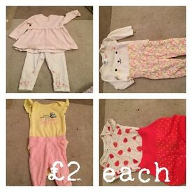 Baby items from new born to 0-3