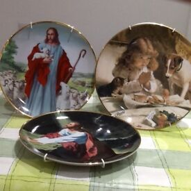 """ antique"" heirloom decorative plates"