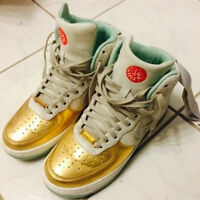 "Nike W'S AIR FORCE 1 HI YOTH QS ""YEAR OF THE HORSE"" DS Size 6.5"
