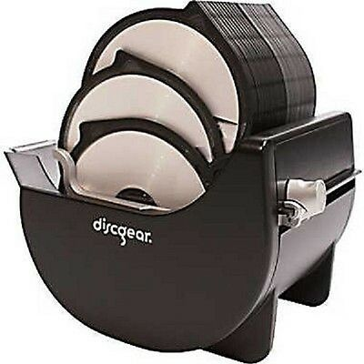 50 Cd Dvd Disc Storage Holder Box Qvc Discgear 4310 01 Browser 431001