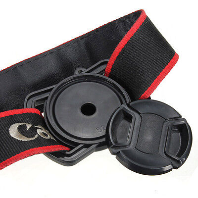 Camera Lens Cap Buckle Holder Keeper Anti Lost For Nikon/Pentax/Canon/Sony UK