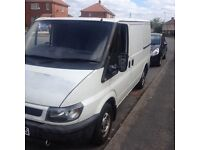 Ford transit swb ready for work