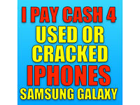 🔥Wanted iPhones & Samsung Phones 4 Cash Today Used Or Cracked