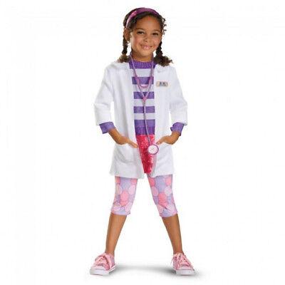 Doc Mcstuffins Deluxe Costume (Doc McStuffins Deluxe Toddler/Child Costume  Disguise)
