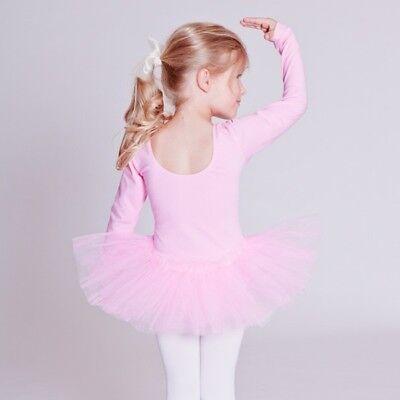 tanzmuster Kinder Langarm Ballett Tutu