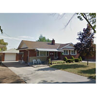 3 bedroom main floor apartment in Thorold - Available Now