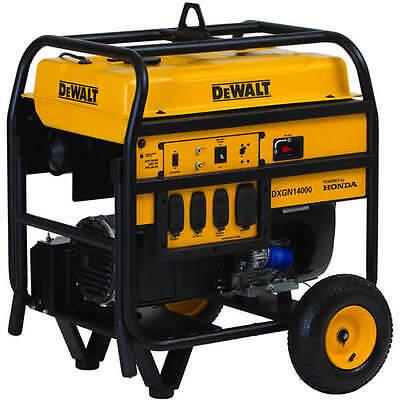 Dewalt Dxgn14000 - 11700 Watt Electric Start Professional Portable Generator...
