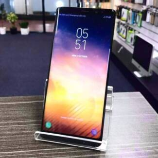 Mint Condition Samsung Galaxy Note 8 Black with box and receipt.