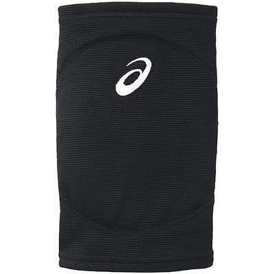 X2 Asics Japan Volleyball Knee Supporter Sleeve Pad Black White XWP163 Size:M