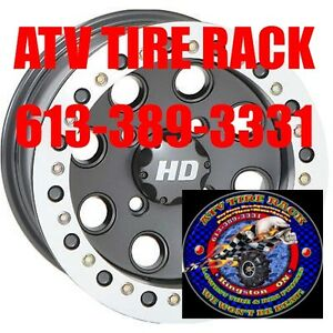 STI HD BEADLOCK RIMs wheels ATV TIRE RACK Lowest Prices Kingston Kingston Area image 1