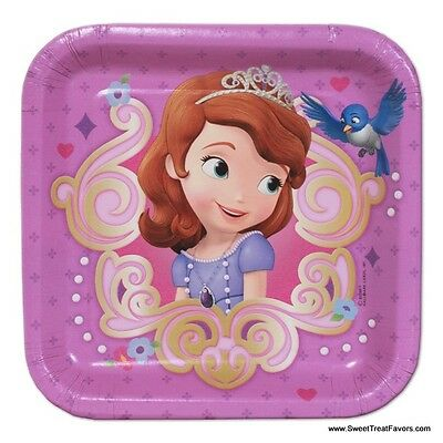 Sofia The First PLATES CAKE Birthday Decoration Party Supplies Favors Princess *