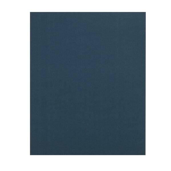 Office Depot Brand 2-Pocket Paper Folders, Dark Blue, Pack of 25