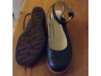 Doc Martens Ankle strap wedges. £30. Size 5.
