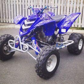 Yamaha raptor 660r race quad half road legal Atv 250 125 banshee blaster Yfz ltr trx