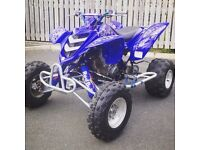 Yamaha raptor 660r race quad half road legal Atv 250 125 banshee blaster Yfz ltr trx