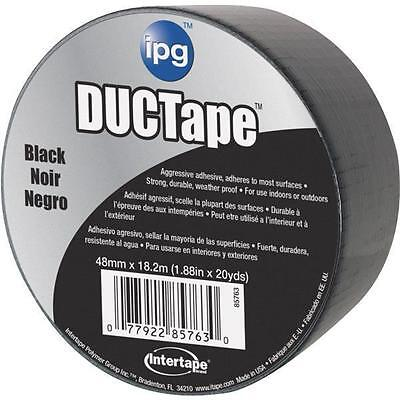 Intertape Jobsite Ductape 20yds Black