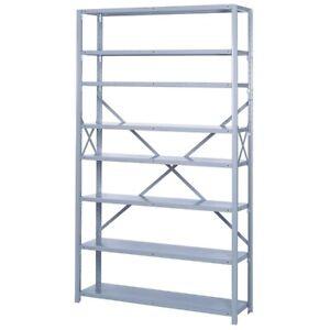 Steel Shelving Units (2)