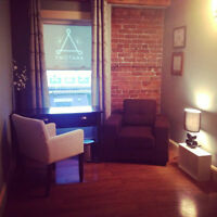 Office/Therapy studio for lease on Argyle St. Halifax!