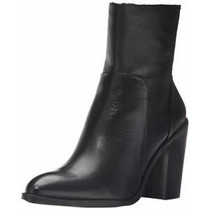 Aldo Women's Greca Ankle Boot, Black Leather, 9.5US Cambridge Kitchener Area image 1