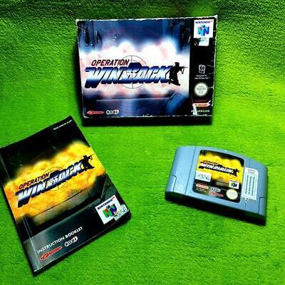 N64 - Operation Winback (con Emb. Orig. Y Instrucciones) - Pal
