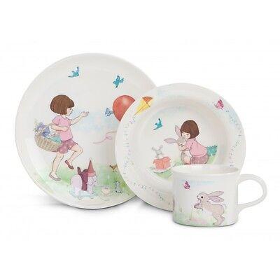 Belle & Boo - 3 Piece Children's Dining Set - Plate, Mug & Bowl