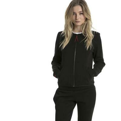 Puma x Ferrari Black/Red Lifestyle Women's T7 Sweat Jacket - 573509