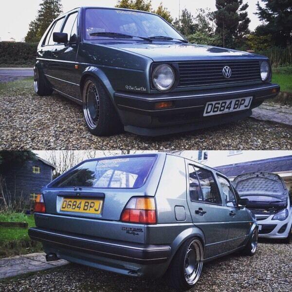 Mk2 87 Golf Clean/low Miles Original Car For Swaps Vw Audi