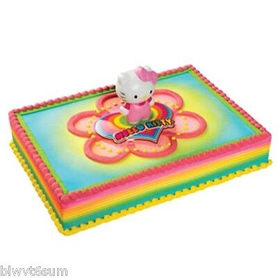 HELLO KITTY LIGHT UP CAKE KIT- BIRTHDAY PARTY SUPPLIES - Hello Kitty Cake Kit