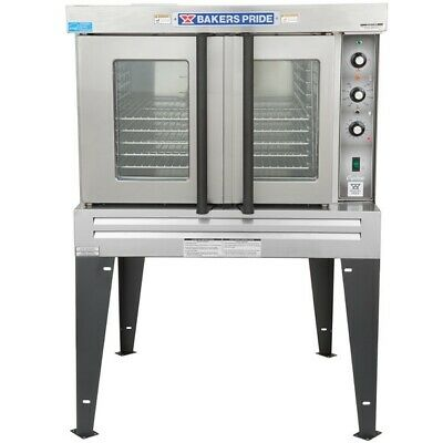 Bakers Pride Bco E1 208v Phase 3 Cyclone Single Deck Full Convection Oven W Leg