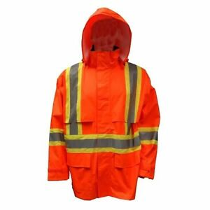 Viking high viz rain jacket size M
