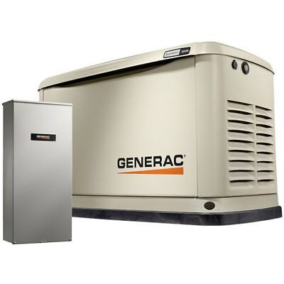 Generac Guardian 20kw Standby Generator System 200a Service Disconnect Ac ...