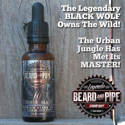 Dark Lab (LAB-CRAFTED #1 BEARD GROWTH OIL *GETS RESULTS* DARK-Beard, Sideburns &)