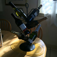 Wine Rack for 6 wine bottles $10.00
