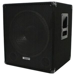 Evolution EL-SUB 15A 600W Active PA Subwoofer, Disco, Live, Sub Bass Bin