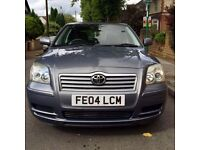 Toyota Avensis VVTI 1.8L 2004 5 Door Saloon Grey for sale £995 ono