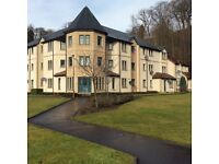 2 Double bedroom ground floor flat in centre of Penicuik